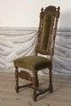 Svarvad stol, 1600-talets sista hälft - Skoklosters slott - 103844.tif