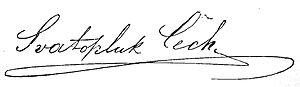 Svatopluk Čech - Signature.