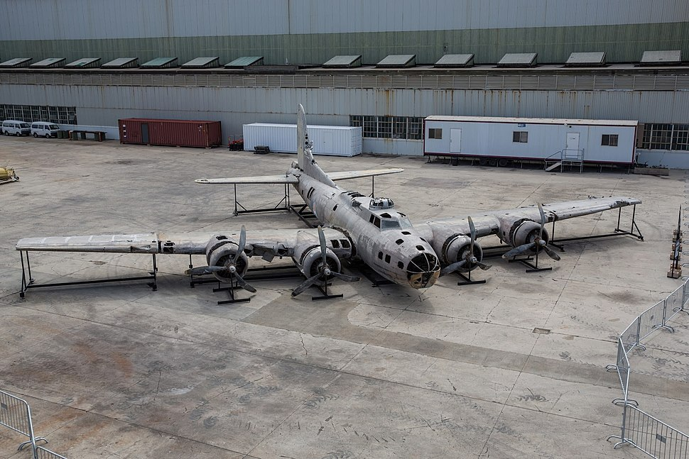Swamp Ghost restoration at the Pacific Aviation Museum Pearl Harbor, April 2014