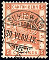 Switzerland Bern 1899 revenue 5c - 38A I-99.jpg