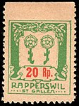 Switzerland Rapperswil 1917 revenue 1 20r - 16B.jpg