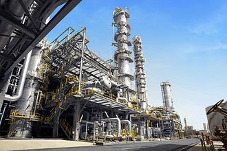 Petrochemical - Petrochemical plant in the Kingdom of Saudi Arabia