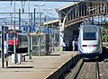 TGV Duplex en gare de Perpignan (été 2008).jpg
