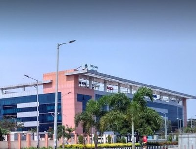 Coimbatore is one of the largest exporters of software. Pictured is TIDEL Park, an IT SEZ. TIDELPark Coimbatore.jpg