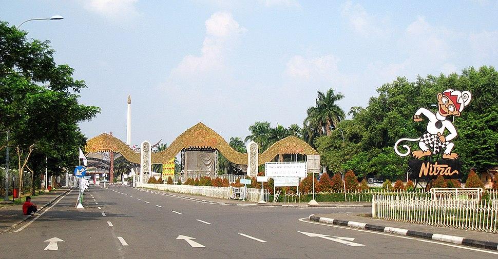 TMII Entrance