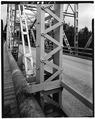 TRUSS MEMBER NORTH END WEST SIDE. - Bonner's Ferry Bridge, Spanning Kootenai River, Bonners Ferry, Boundary County, ID HAER ID,11-BONFE,1-3.tif