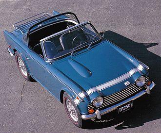 Targa top - Image: TR 250 Valencia Blue