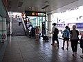 TW 台北市 Taipei 大安區 Da'an District 台北捷運 MRT Station interior August 2019 SSG 05 Metro 大安站 Daan Station.jpg