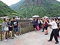 TW 台灣 Taiwan 新北市 New Taipei 瑞芳區 Ruifang District 洞頂路 Road 黃金瀑布 Golden Waterfall August 2019 SSG 21.jpg