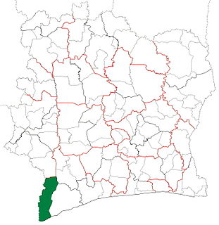 Tabou Department Department in Bas-Sassandra, Ivory Coast