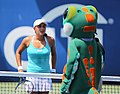 Tamira Paszek and the Geico gecko (5992045919).jpg