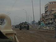 Tank in Ramadi