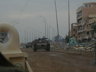 1st Armored Division (United States) - 1st BCT employed tanks in the city of Ramadi to push out Al Qaeda in Iraq