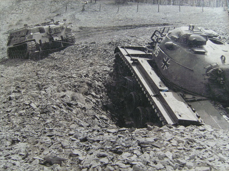 Tank recovering