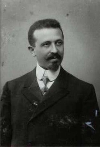 Aaron Tänzer - Aaron Tänzer in 1907