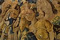 """Tapís flamenc amb orla de """"verdures"""" i escena de Diana caçadora (detall), Museu de Ceràmica de València.JPG"""