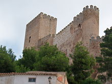 Castillo de Almansa, Albacete,