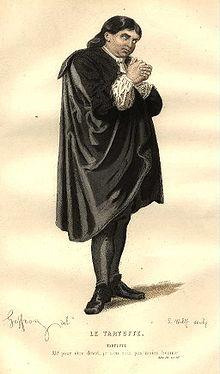 Tartufo en una ilustración del siglo XIX .