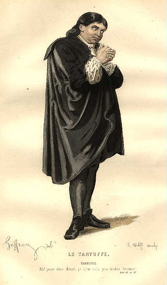 Tartuffe - 19th-century costume design