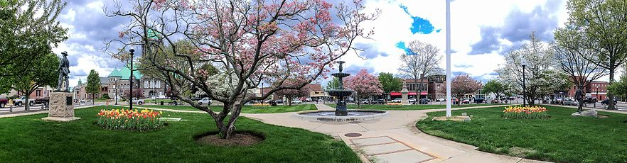 Taunton Green Panorama