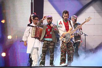 Israel in the Eurovision Song Contest - Image: Teapacks Eurovision 2007