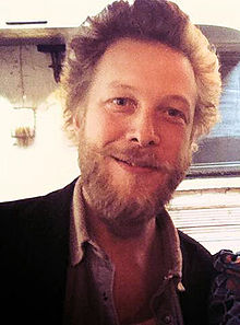 Ted Dwane of Mumford & Sons at Londonewcastle Project Space for A Show of Faces, November 2013.jpg