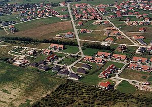 Telki - Aerial photography of Telki