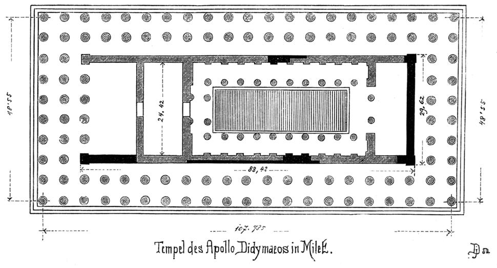 Tempel des Apollo Didymaeos in Milet