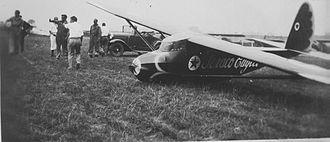 Frank Hawks - Frank Hawks in the Texaco Eaglet c. 1930