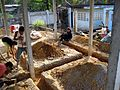 Thai House Concrete Footing Trenches.JPG