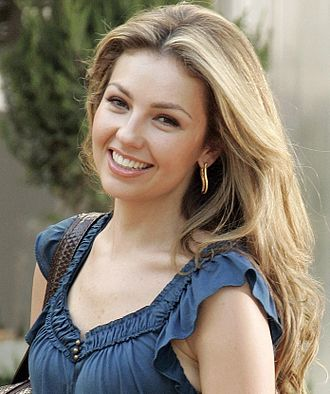 "Telenovela - Mexican superstar Thalía starred in the Las Tres Marias or the ""Maria Trilogy"", considered the all-time most watched telenovela series in the world."