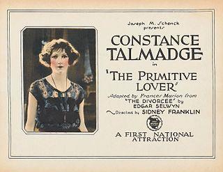 <i>The Primitive Lover</i> 1922 film