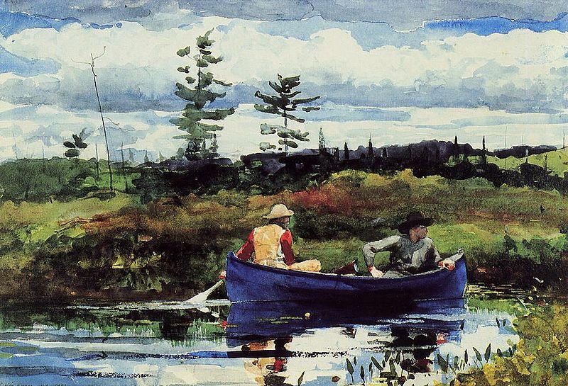 File:The Blue Boat 1892 Winslow Homer.jpg