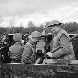 Essex Yeomanry - 147th Field Regiment (Essex Yeomanry) in North-west Europe 1944-45 (IWM B12023)