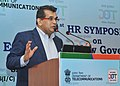 The CEO, NITI Aayog, Shri Amitabh Kant delivering the keynote address, at the inauguration of the 1st HR SYMPOSIUM on ICT-Engendering New Governance Structure, in New Delhi on July 12, 2017.jpg