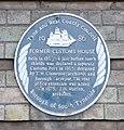 The Customs House, South Shields - blue plaque.jpg