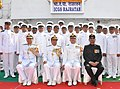 The Director General, Indian Coast Guard, Vice Admiral M.P. Muralidharan commissioned the Indian Coast Guard Ship 'Rajratan', in Kolkata on February 11, 2013.jpg