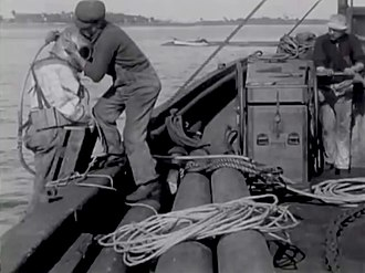 The Diver (film) - Scene from the film