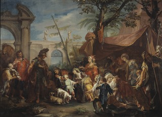 The Family of Darius Pleading to Alexander