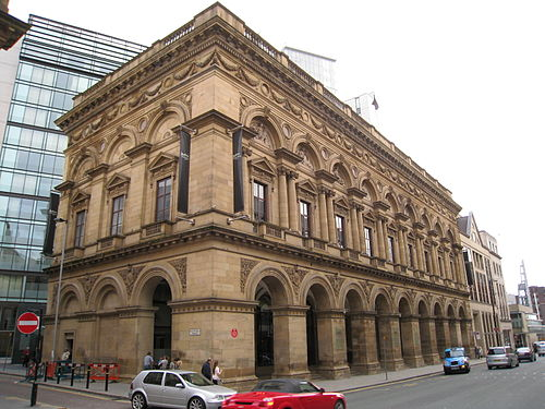 Free Trade Hall, Manchester, the Halle's main base in the Barbirolli years The Free Trade Hall, Manchester.jpg