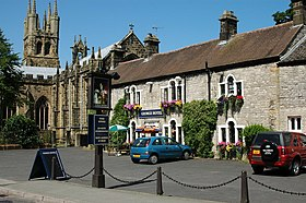 The George Hotel, Tideswell, Derbyshire (geograph 768206).jpg