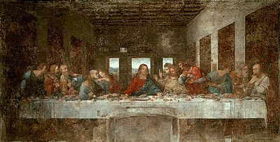 leonardo da vinci simple english the encyclopedia the last supper 1498 milan leonardo s