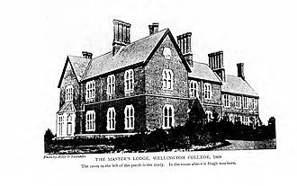 Robert Hugh Benson - Image: The Master's Lodge, Wellington College, 1868