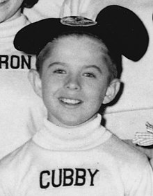 The Mickey Mouse Club Cubby O'Brien 1956.jpg
