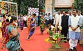 The Minister of State for Human Resource Development, Shri Upendra Kushwaha visiting after inaugurating the KVS Rashtriya Ekta Shivir-2017, Ek Bharat-Shreshth Bharat, in New Delhi on October 31, 2017.jpg