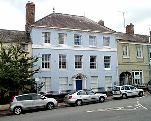 Monmouth Hospital - Image: The Old Dispensary, Monmouth Geograph 2099249 by John Grayson