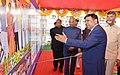 The President, Shri Ram Nath Kovind at the dedication of Andhra Pradesh Fibregrid, Andhra Pradesh Survelliance Project, Drone Project and FSOC, at Velagapudi, in Andhra Pradesh (1).jpg
