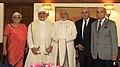 The Religious head of Parsi community, Shri Dastur Khurshed Kaikobad Dastoor along with delegation calling on the Prime Minister, Shri Narendra Modi, in New Delhi on June 30, 2014.jpg
