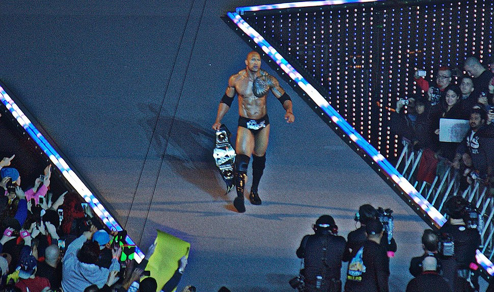 The Rock Wrestlemania 29