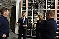 The USA's Secretary of the Air Force visits Cheyenne Mountain, 2015-05-27, 150527-F-VT441-005 (18172001626).jpg